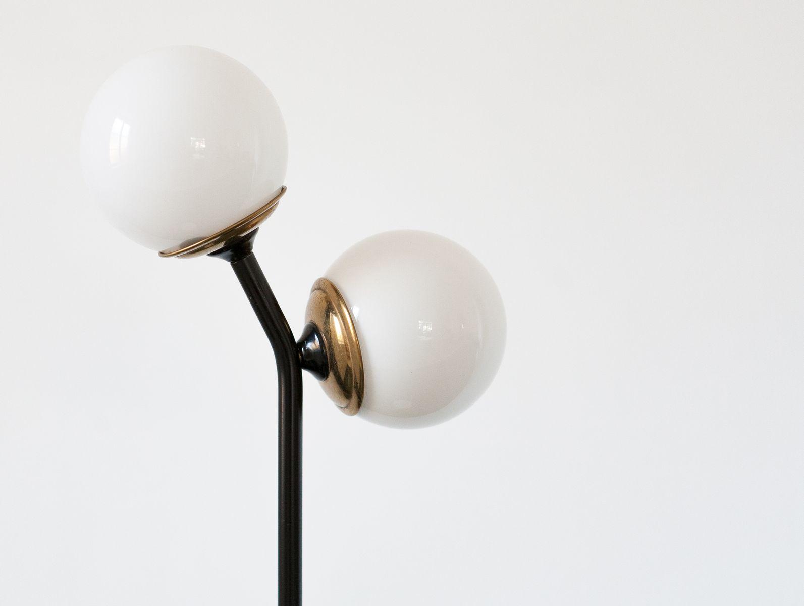 ^ Mid-entury Modern Italian Floor Lamp with Marble Base, 1950s for ...