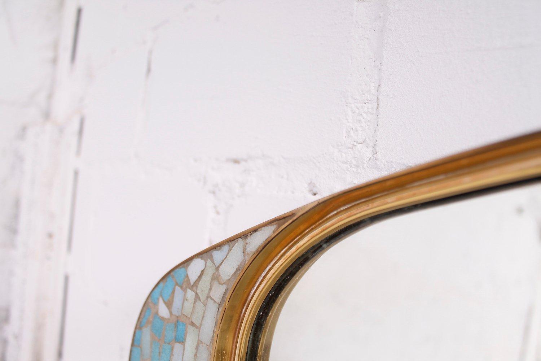 deutscher gro er dekorativer mosaik spiegel von m nchner zierspeigel bei pamono kaufen. Black Bedroom Furniture Sets. Home Design Ideas