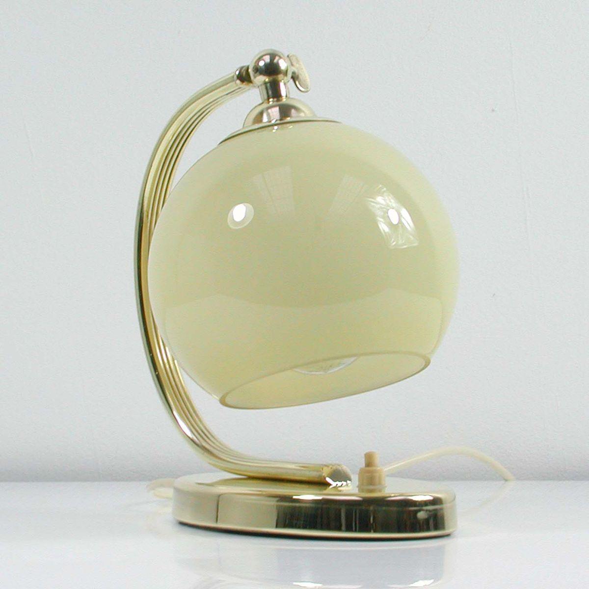 german art deco bauhaus brass table lamp 1930s for sale at pamono. Black Bedroom Furniture Sets. Home Design Ideas