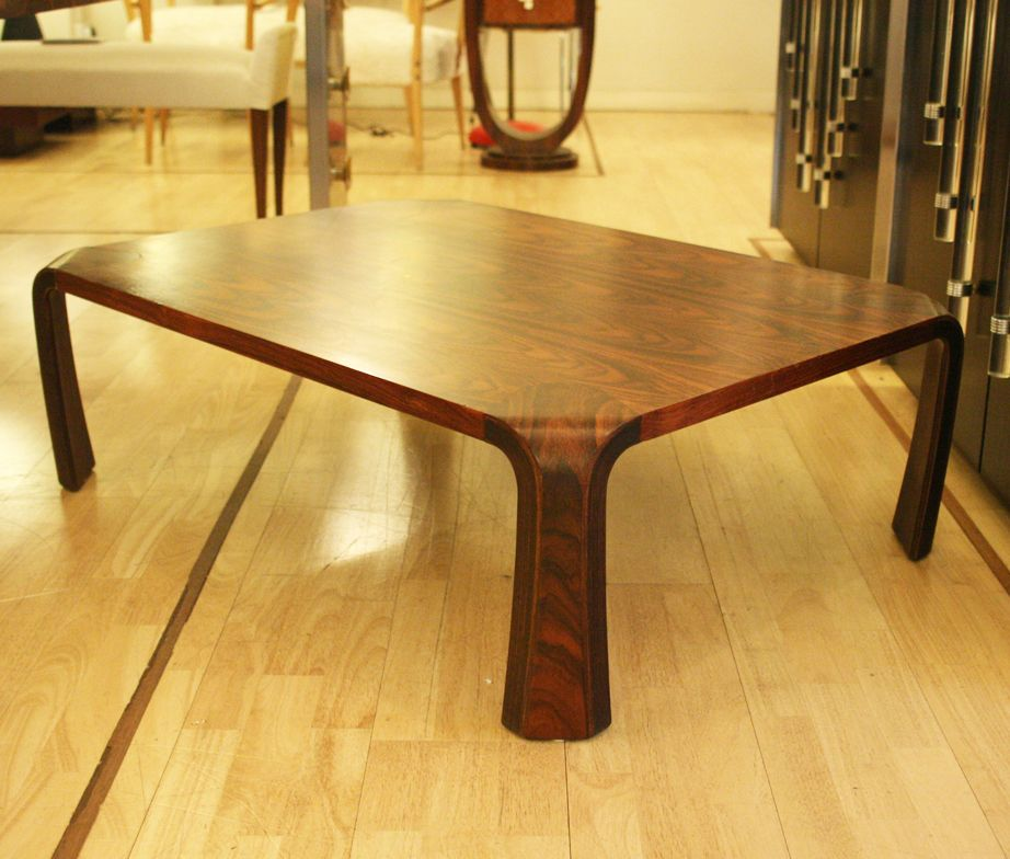 Table basse vintage par inui saburou japon en vente sur for Table design japon