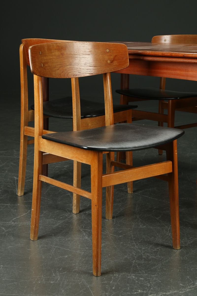 danish dining set 1960s for sale at pamono