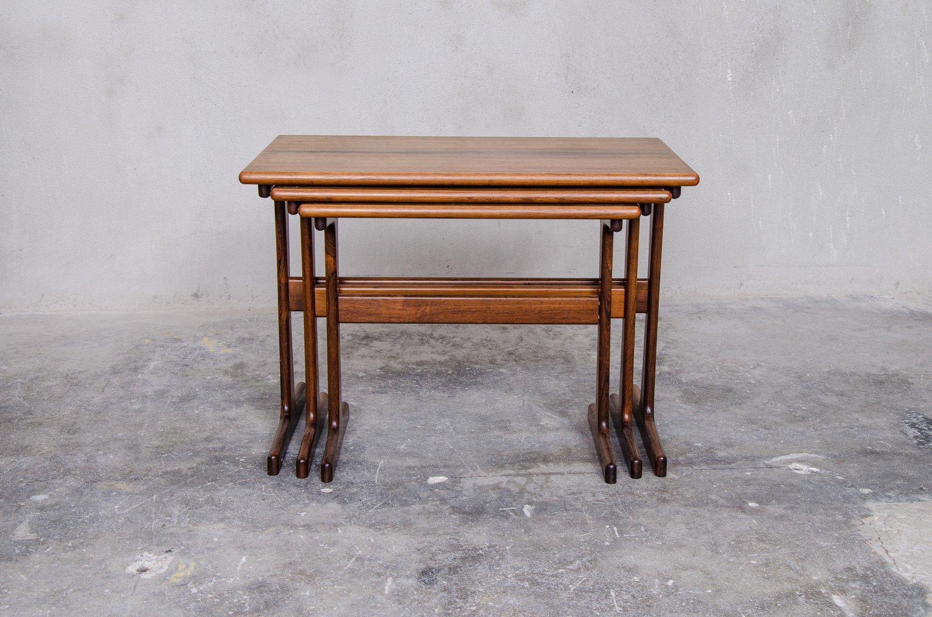 Vintage Nesting Tables ~ Vintage nesting tables by kai kristiansen for vildbjerg