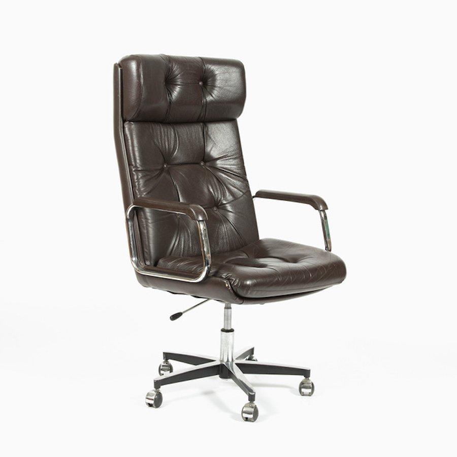 fauteuil de bureau vintage r publique tch que en vente sur pamono. Black Bedroom Furniture Sets. Home Design Ideas