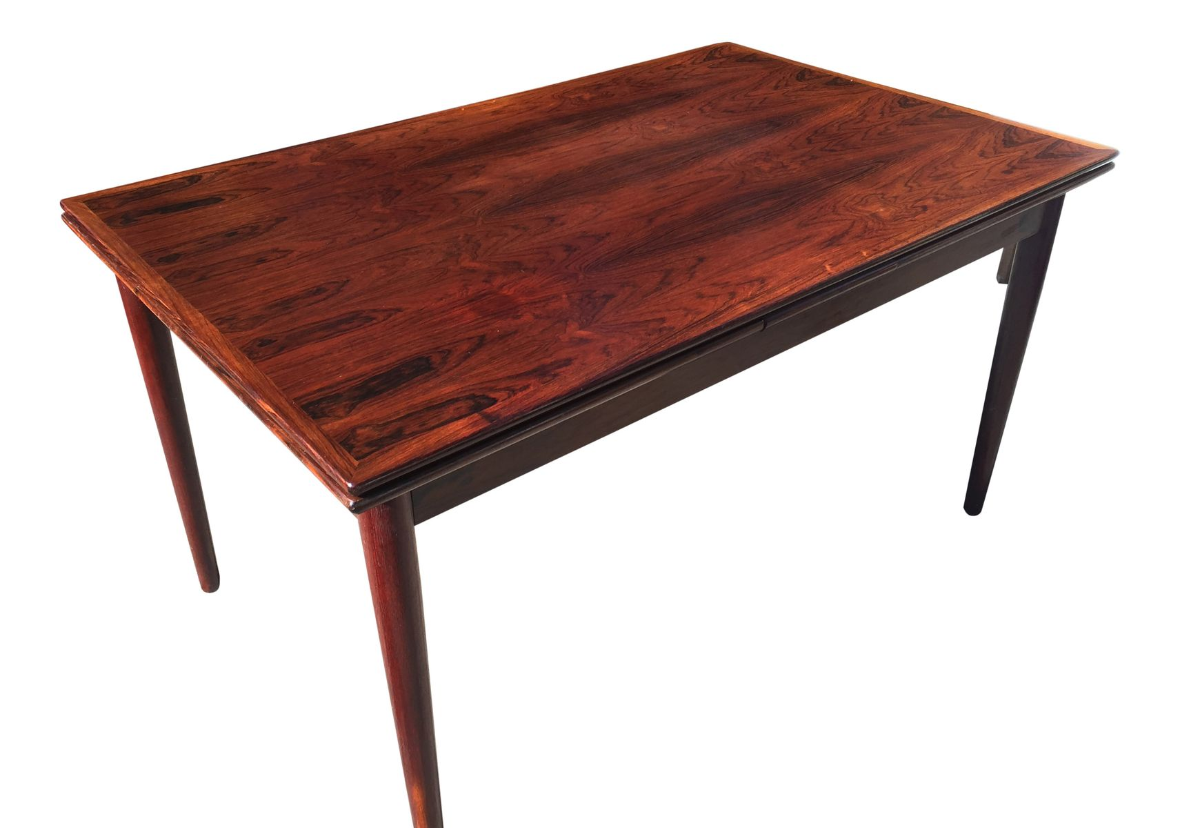 Rosewood Dining Table Vintage Rosewood Dining Table From Hornslet Mbelfabrik 1960s For