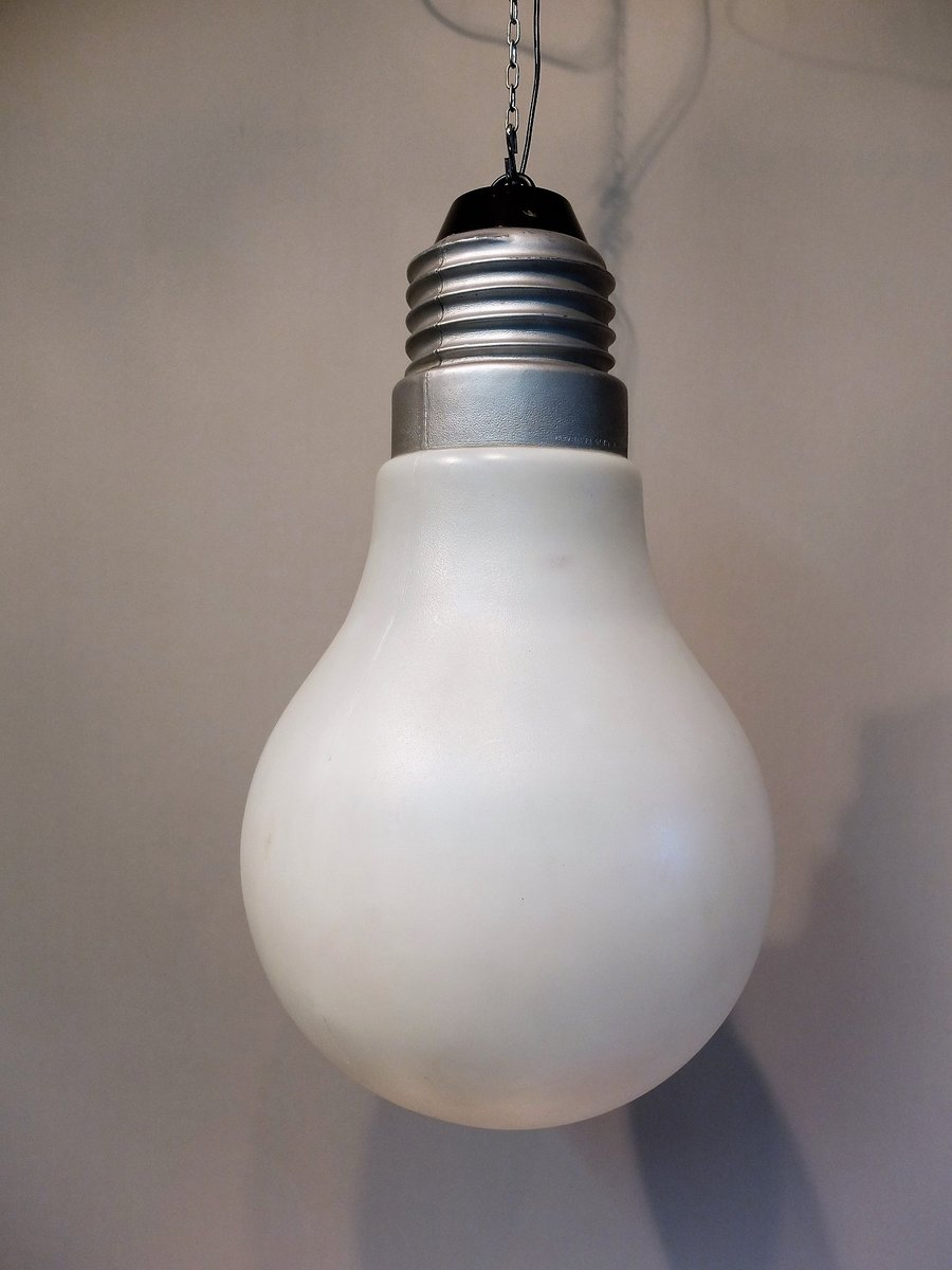 bulb bulb lamp by ingo maurer 1970s for sale at pamono. Black Bedroom Furniture Sets. Home Design Ideas
