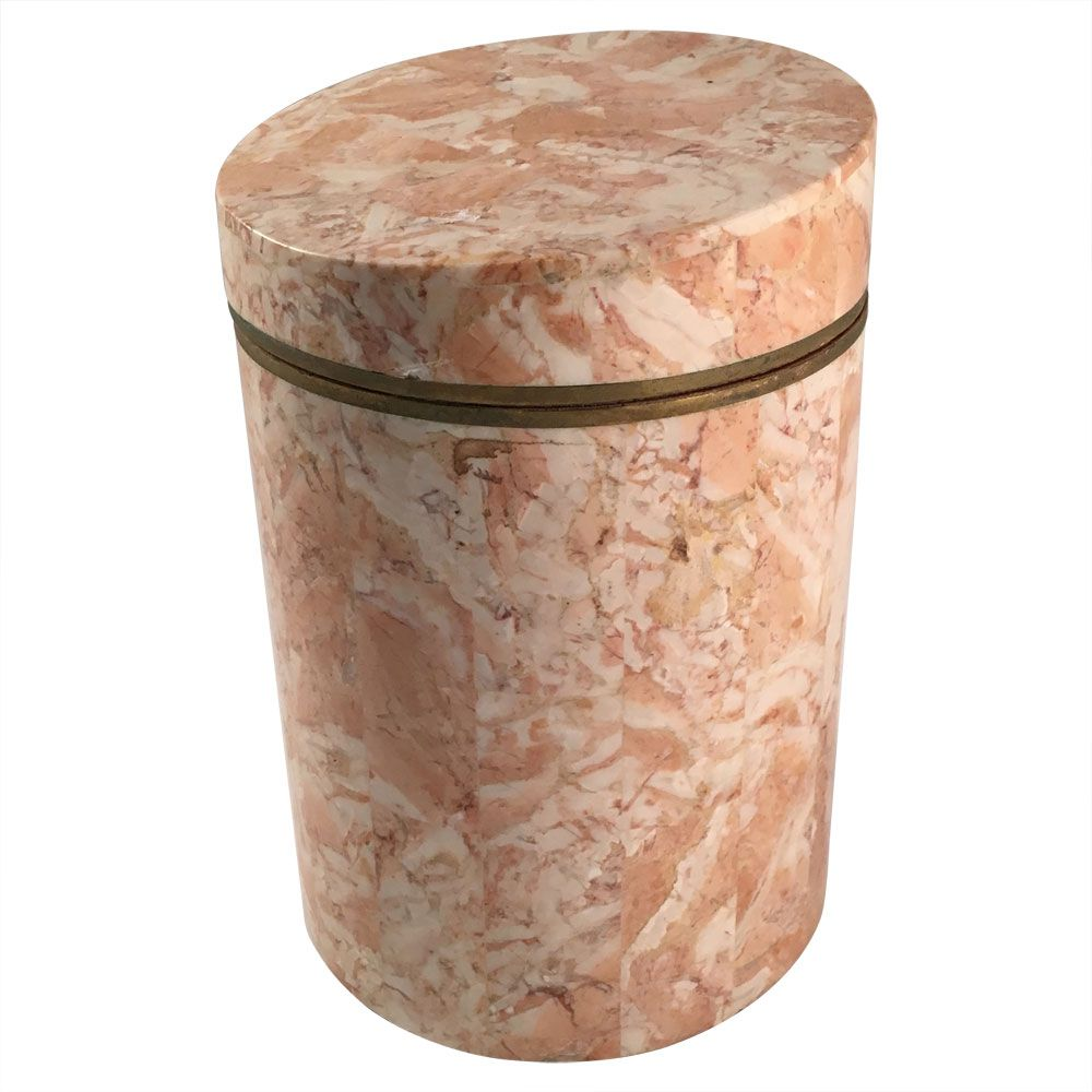 Marble Canister From Maitland Smith, 1970s