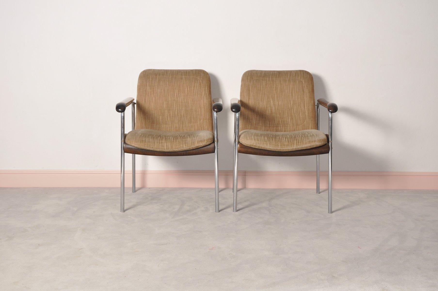 italienische vintage st hle 2er set bei pamono kaufen. Black Bedroom Furniture Sets. Home Design Ideas