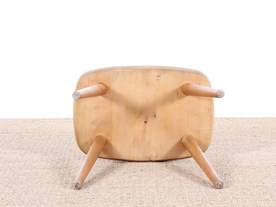 Scandinavian Model Palle Stool by Yngve Ekström for Stolab, 1950s for sale at Pa
