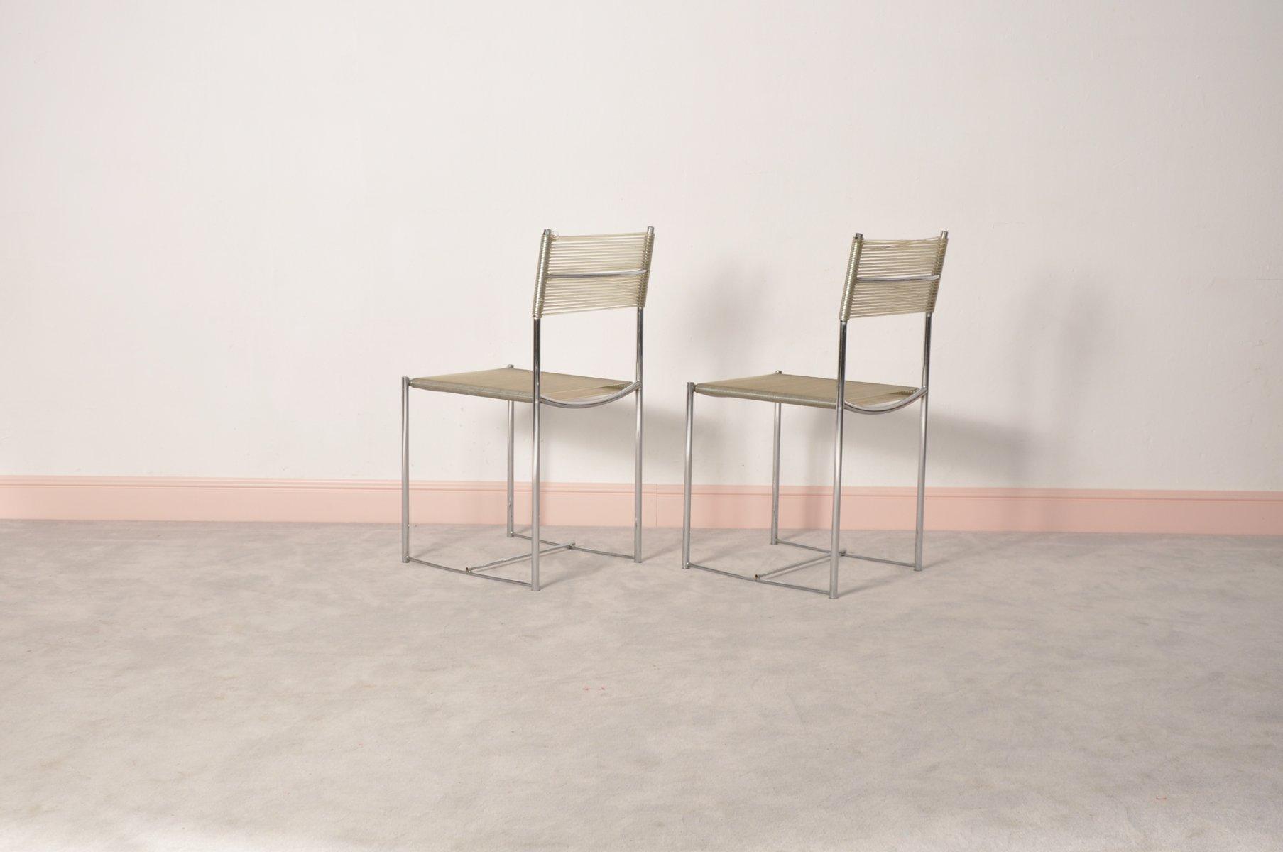 spaghetti st hle von giandomenico belotti f r alias 1970er 2er set bei pamono kaufen. Black Bedroom Furniture Sets. Home Design Ideas