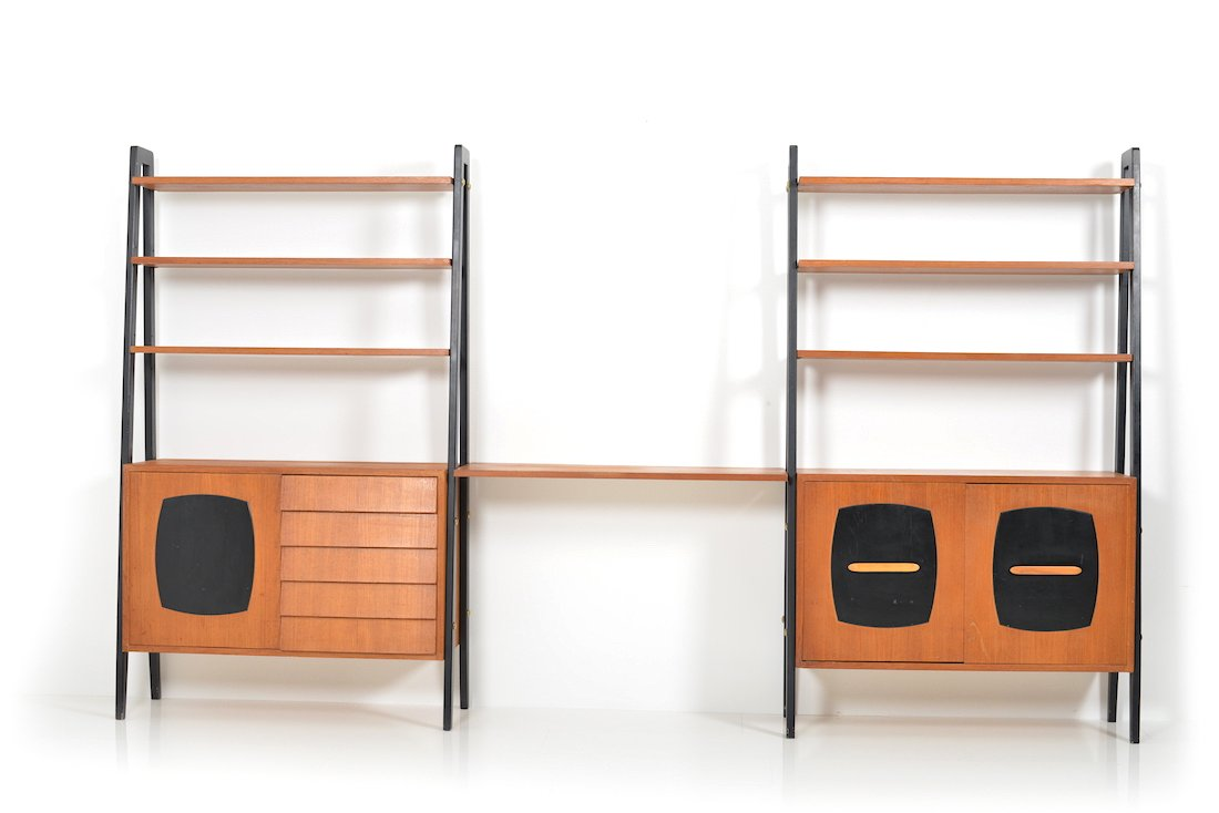 b cherregal von gillis lundgreen f r ikea 1950er bei pamono kaufen. Black Bedroom Furniture Sets. Home Design Ideas