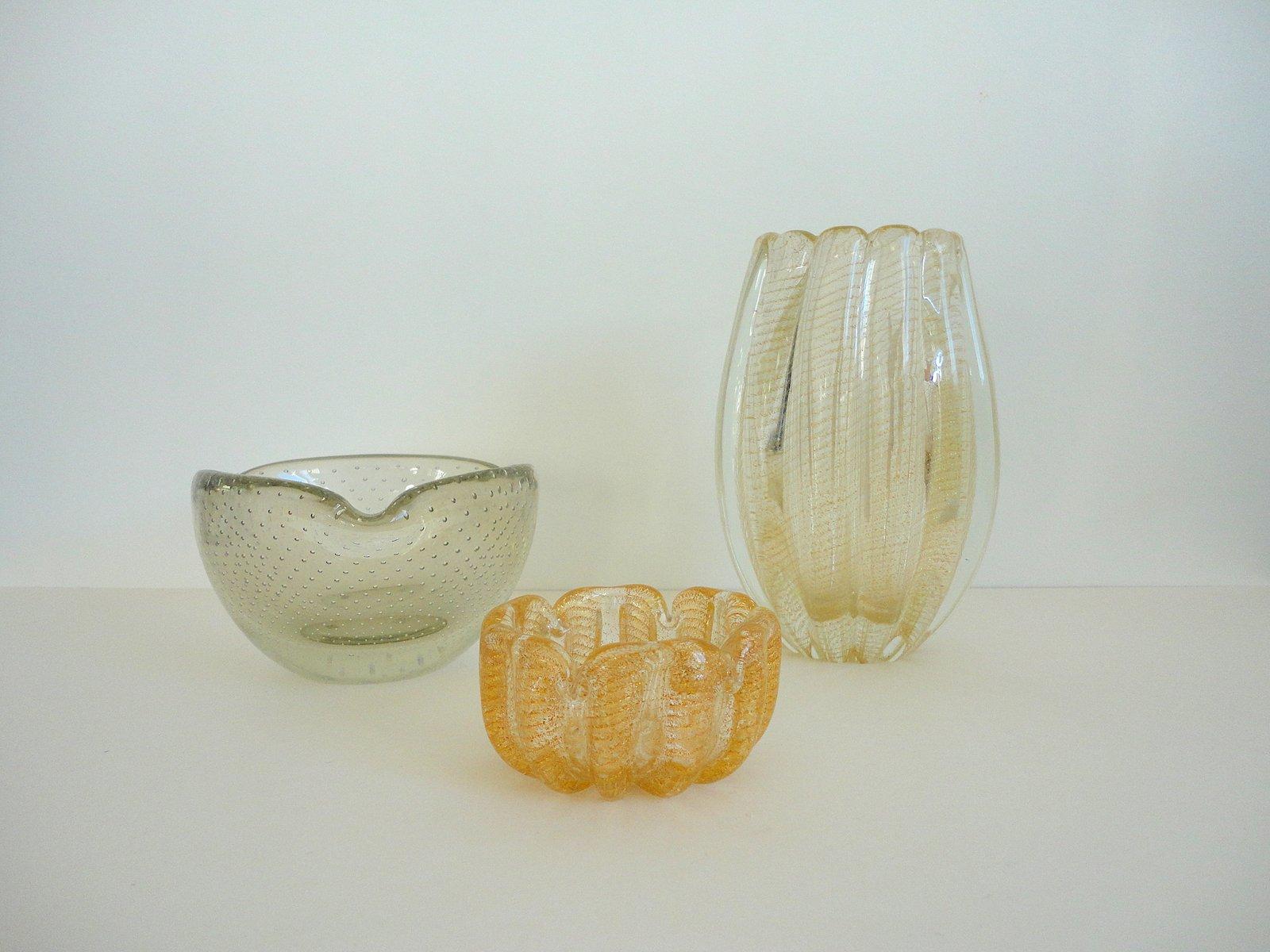Murano glass vases from seguso barovier toso 1950s for Barovier e toso
