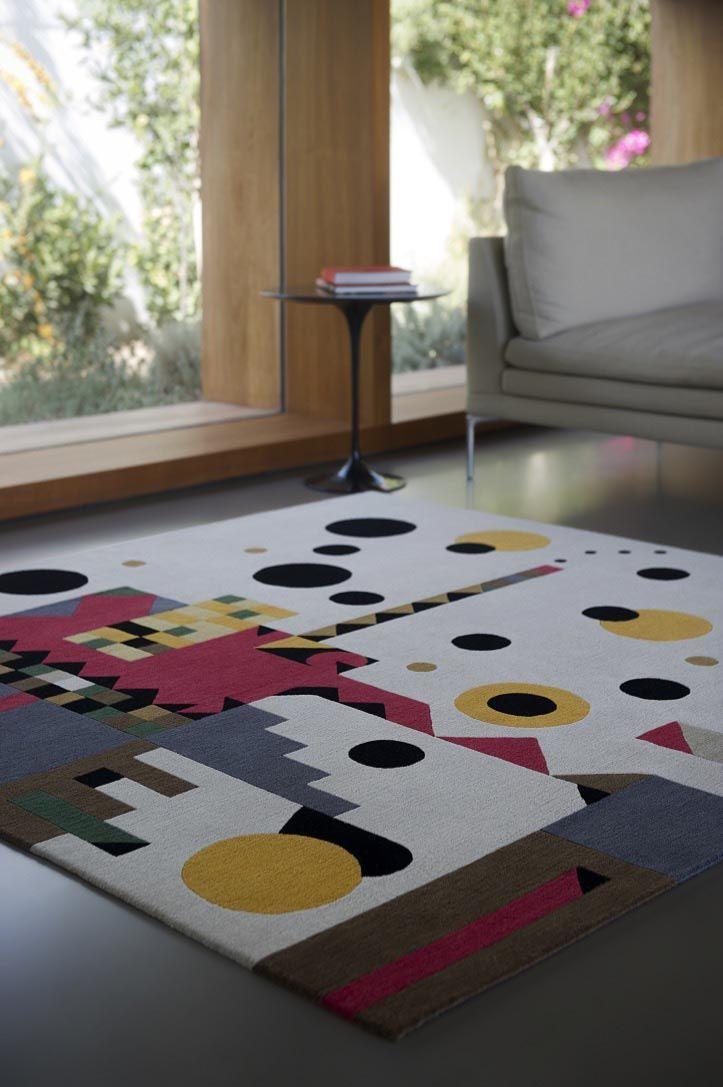 Cosmic Rasta Teppich von Kostas Neofitidis für KOTA