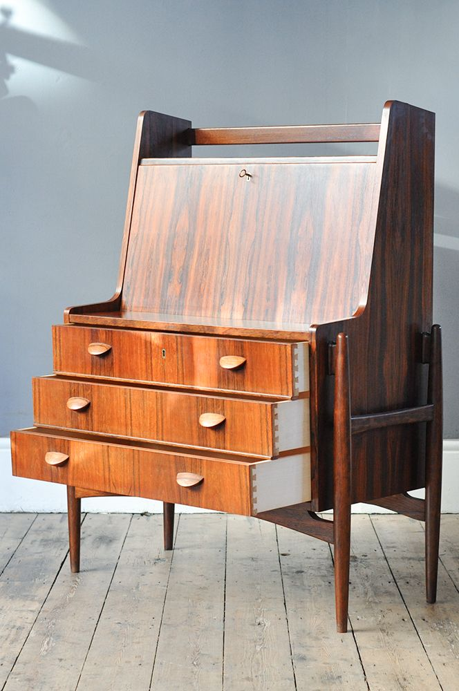 d nischer mid century palisander sekret r bei pamono kaufen. Black Bedroom Furniture Sets. Home Design Ideas