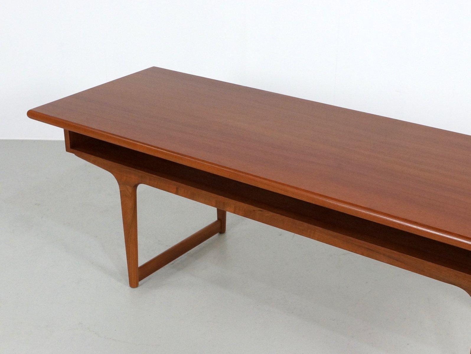 Danish coffee table rascalartsnyc large teak danish coffee table 1960s for at pamono geotapseo Choice Image