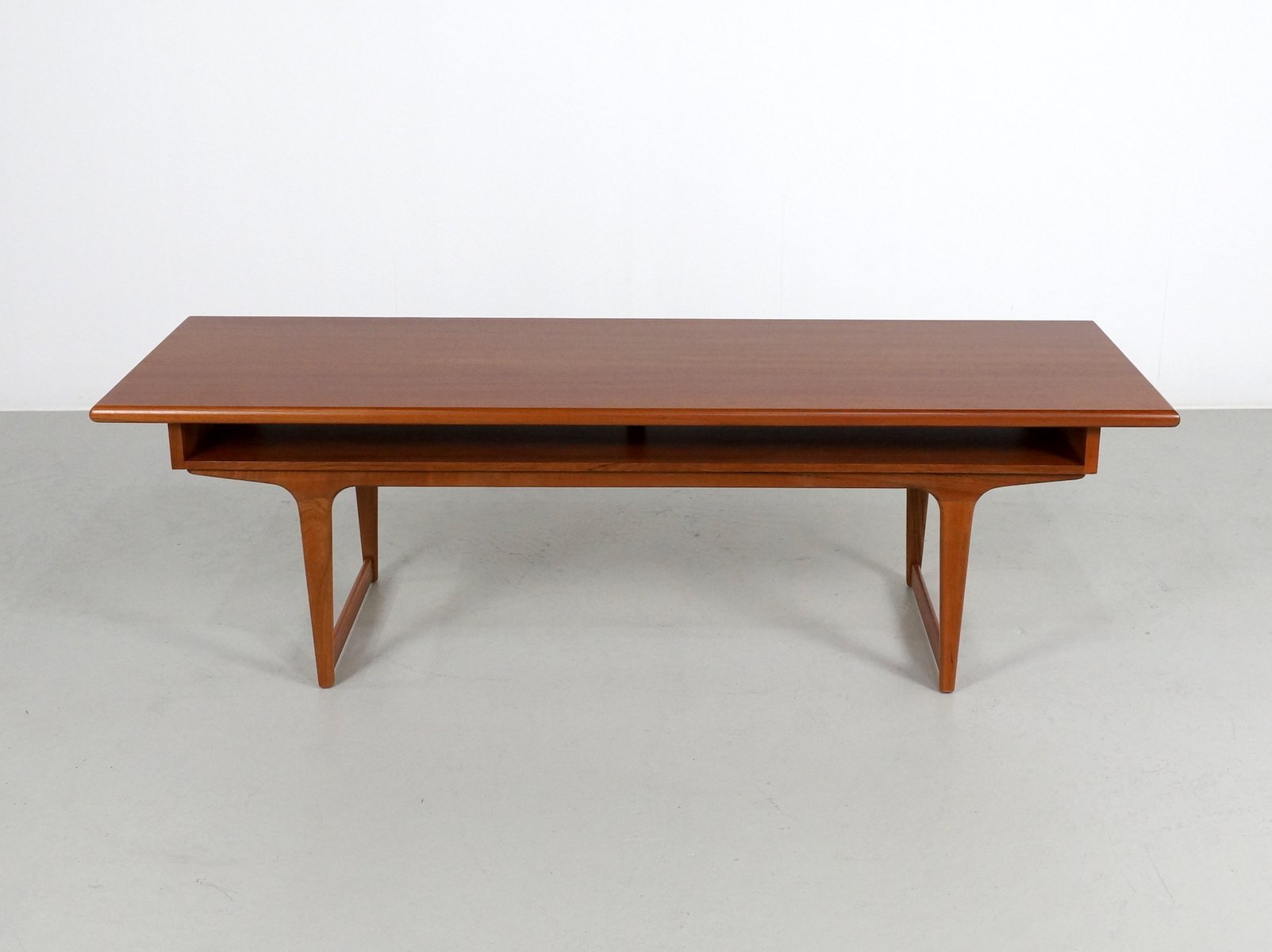 Teak Danish Coffee Table 1960s for sale at Pamono