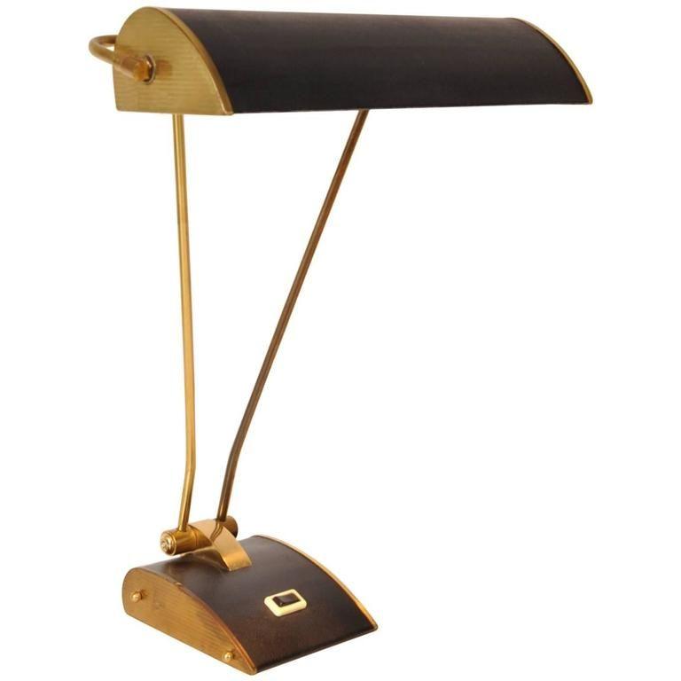 schreibtischlampe von eileen gray f r jumo 1940er bei pamono kaufen. Black Bedroom Furniture Sets. Home Design Ideas