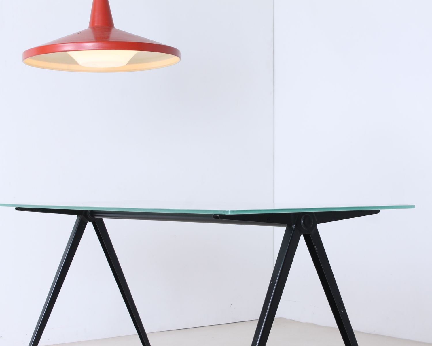 Black Compass Pyramid Base Coffee Table From Marko 1960s For Sale At Pamono