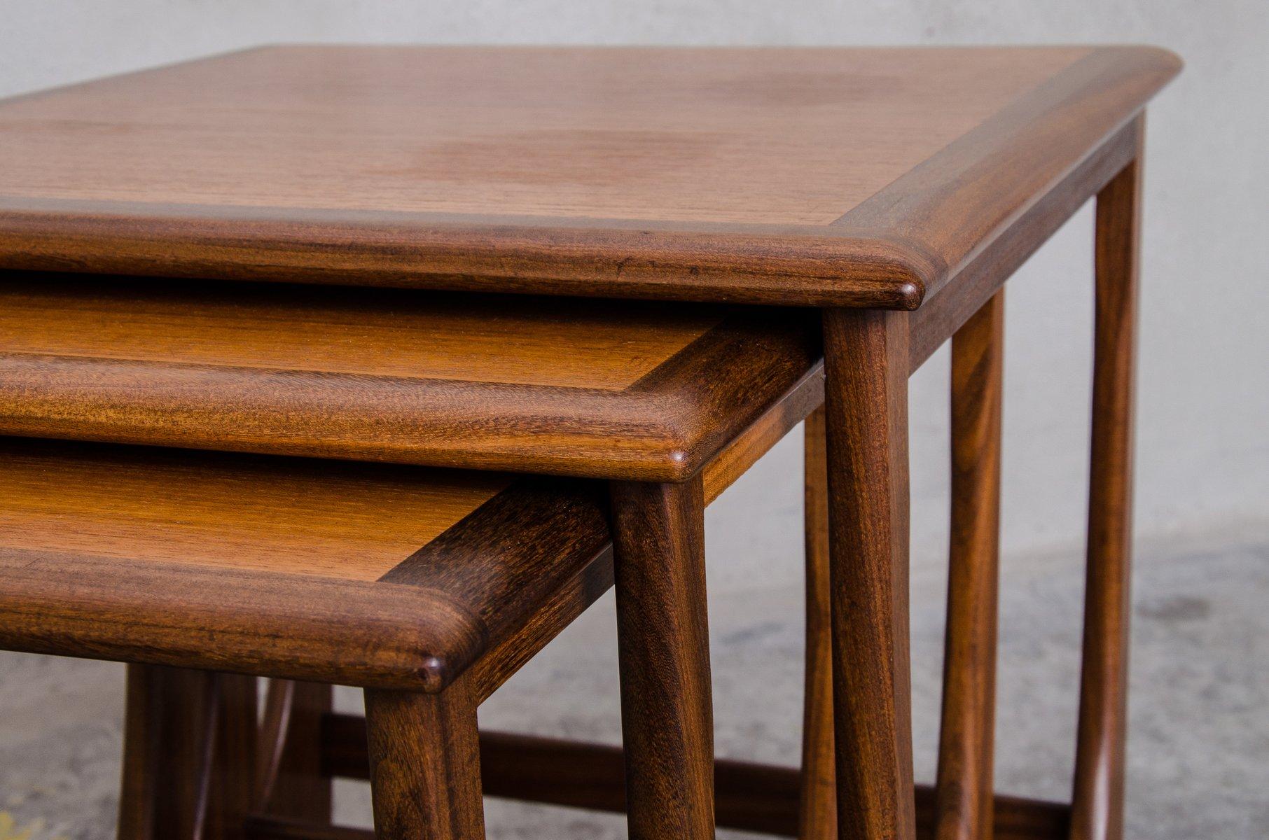 astro nesting tables by kai kristiansen for gplan s for sale  - astro nesting tables by kai kristiansen for gplan s
