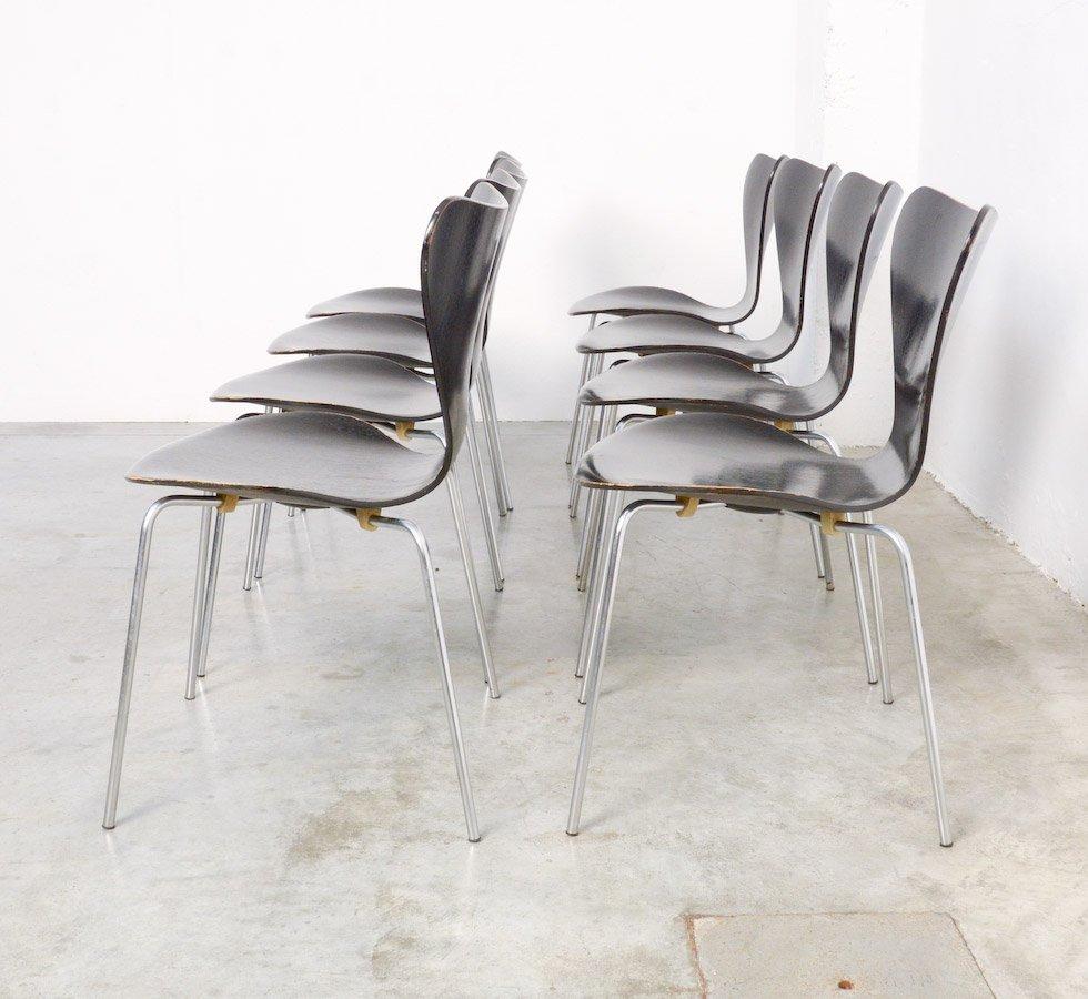 Butterfly chair black - Black Butterfly Chair By Arne Jacobsen For Fritz Hansen 1967