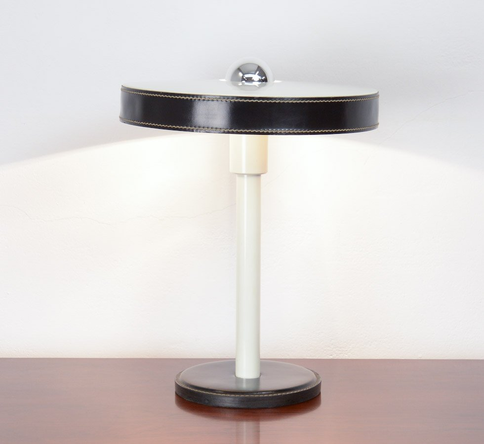 Minimalist Black & White Desk Lamp by L. Kalff for Philips for ...
