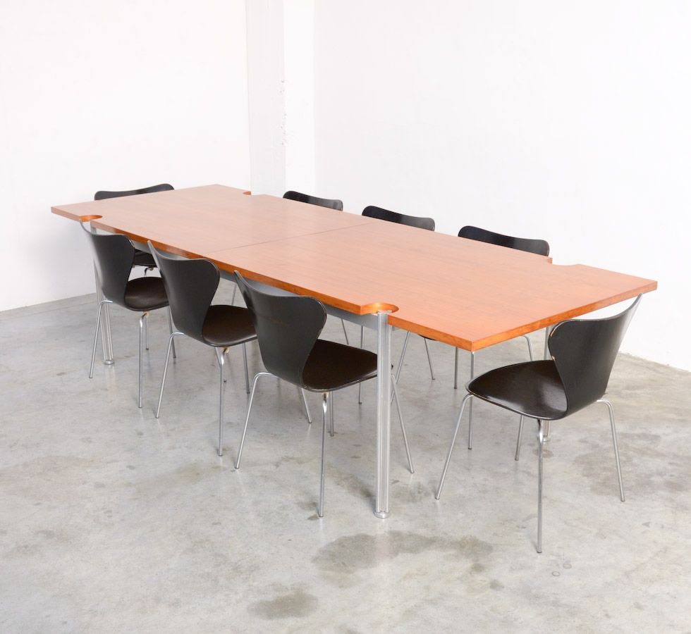 Dining table by george ciancimino for mobilier for Mobilier