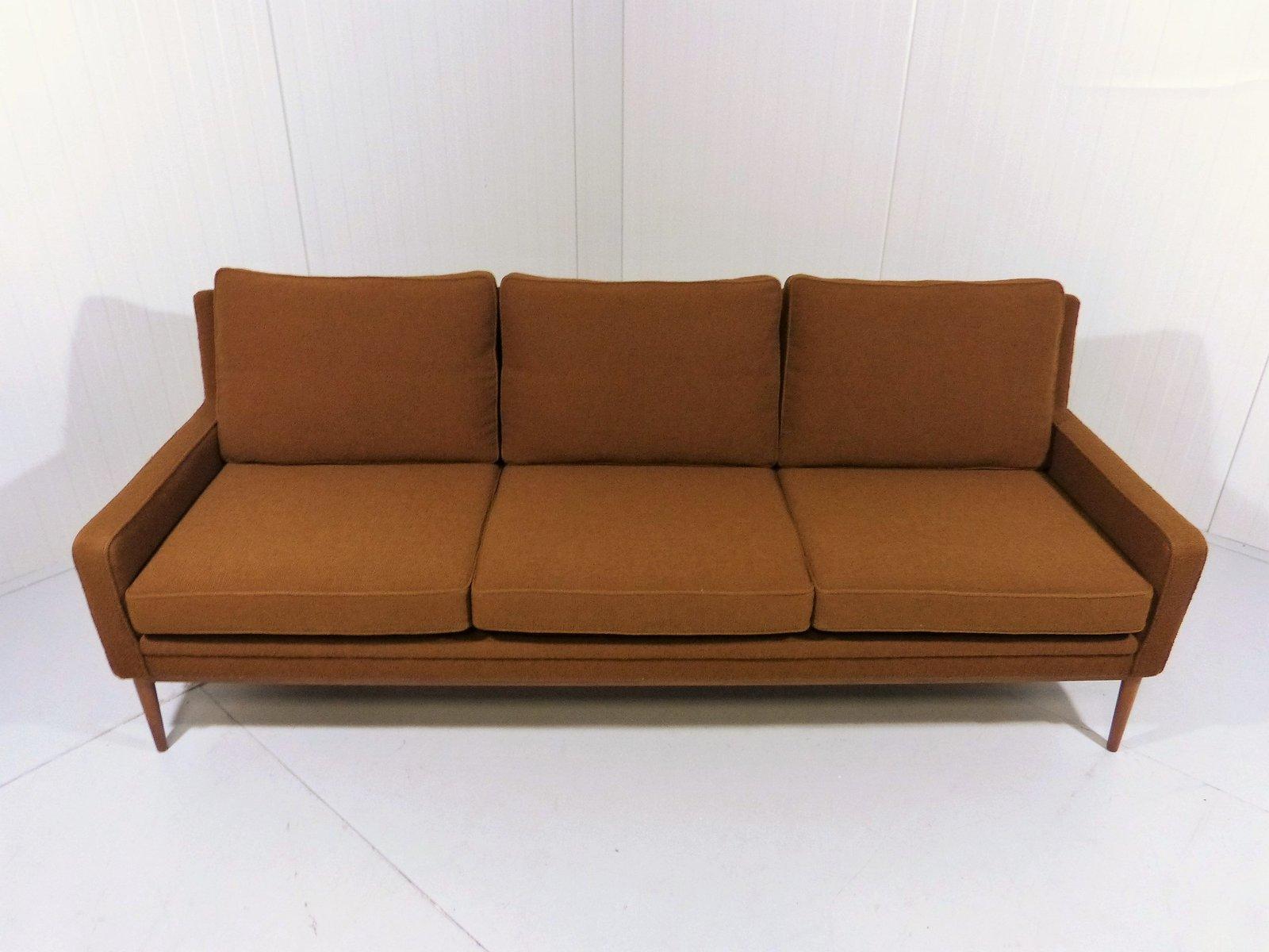 d nisches drei sitzer sofa 1960er bei pamono kaufen. Black Bedroom Furniture Sets. Home Design Ideas