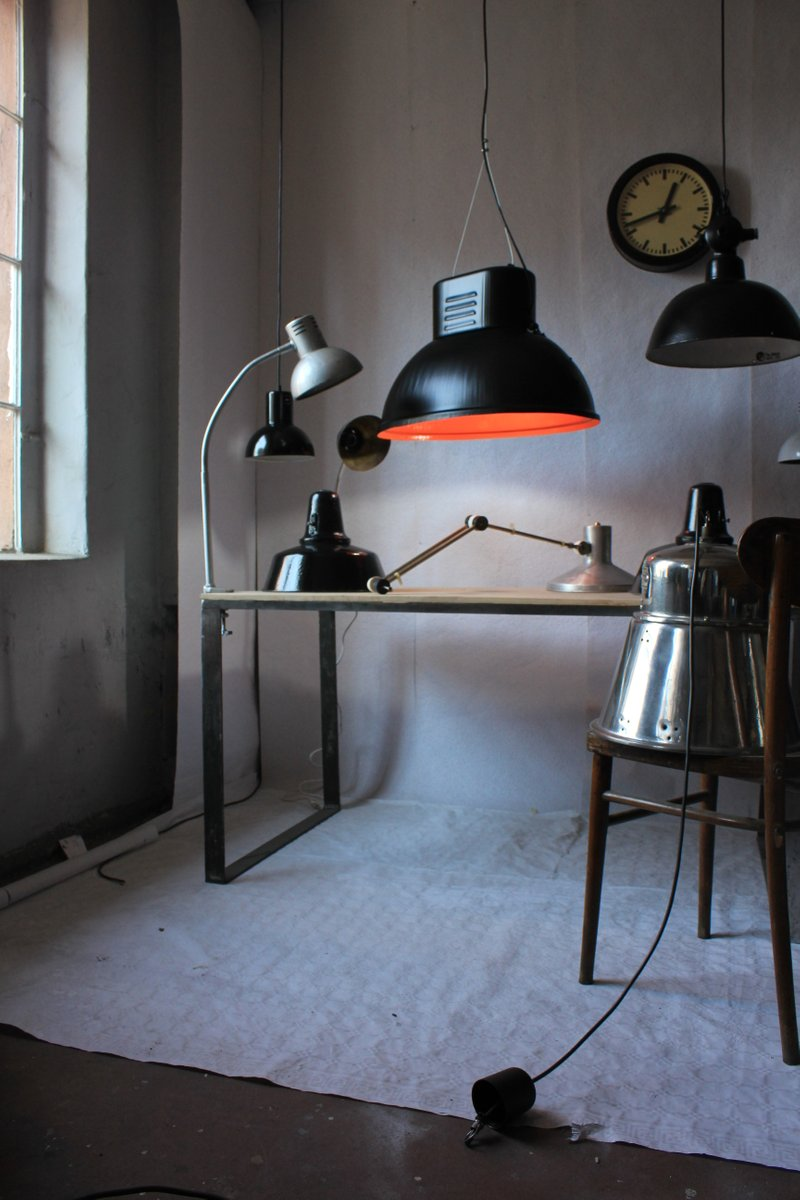 Vintage Industrial Factory L& from Predom-Mesko 1970s for sale at Pamono & Vintage Industrial Factory Lamp from Predom-Mesko 1970s for sale ... azcodes.com