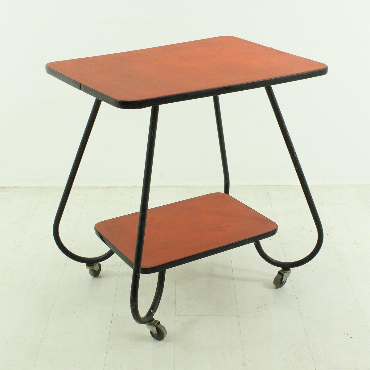 vintage servierwagen 1950er bei pamono kaufen. Black Bedroom Furniture Sets. Home Design Ideas