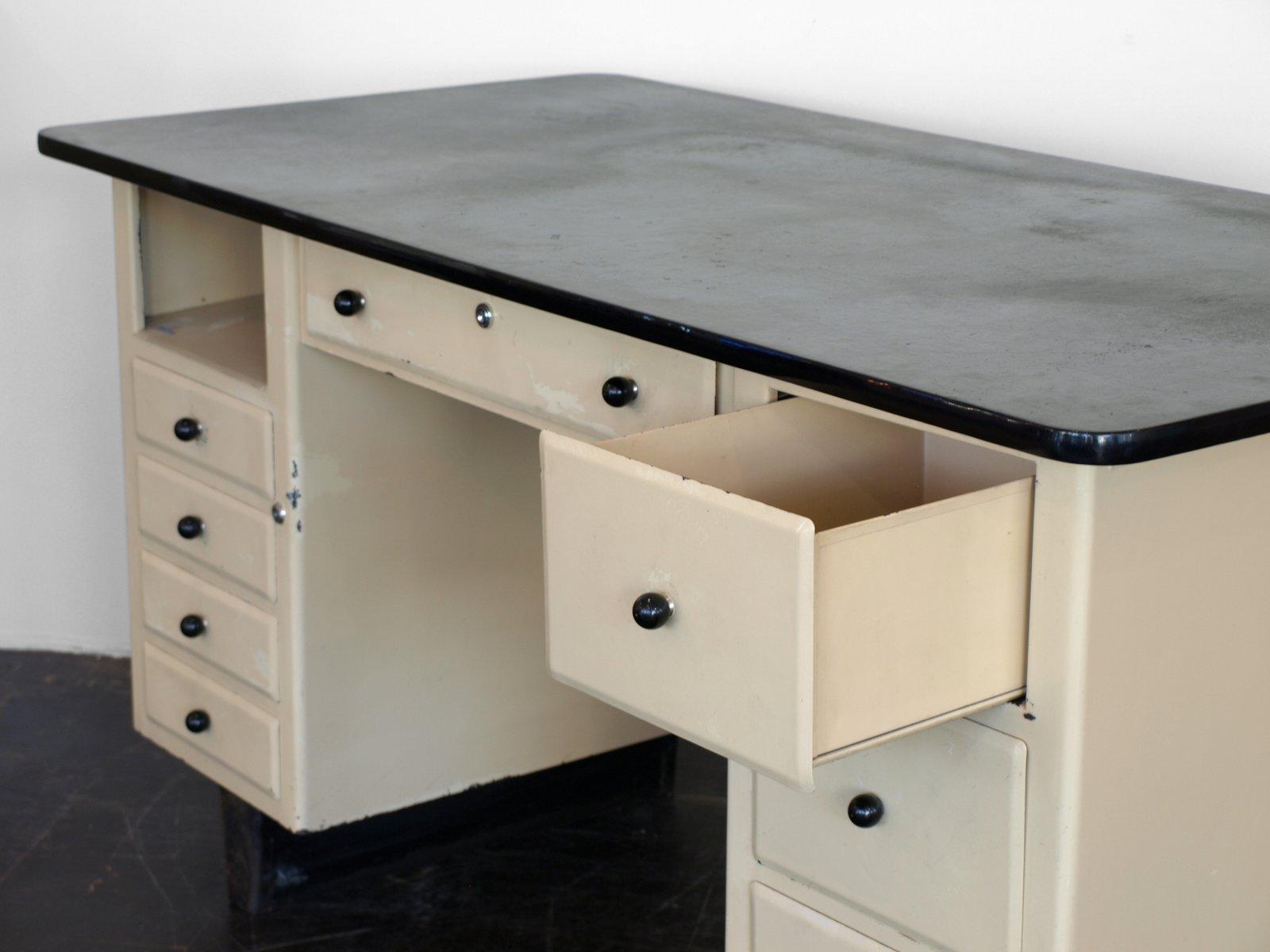 industrie rzte schreibtisch von hoechst 1960er bei pamono kaufen. Black Bedroom Furniture Sets. Home Design Ideas