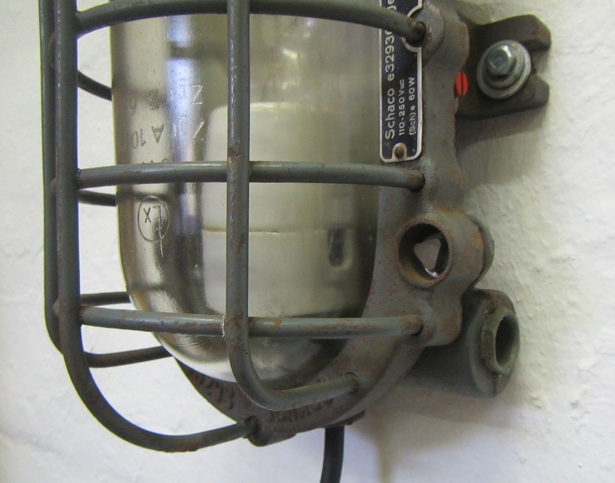 Industrial Wall Light from SCHACO for sale at Pamono