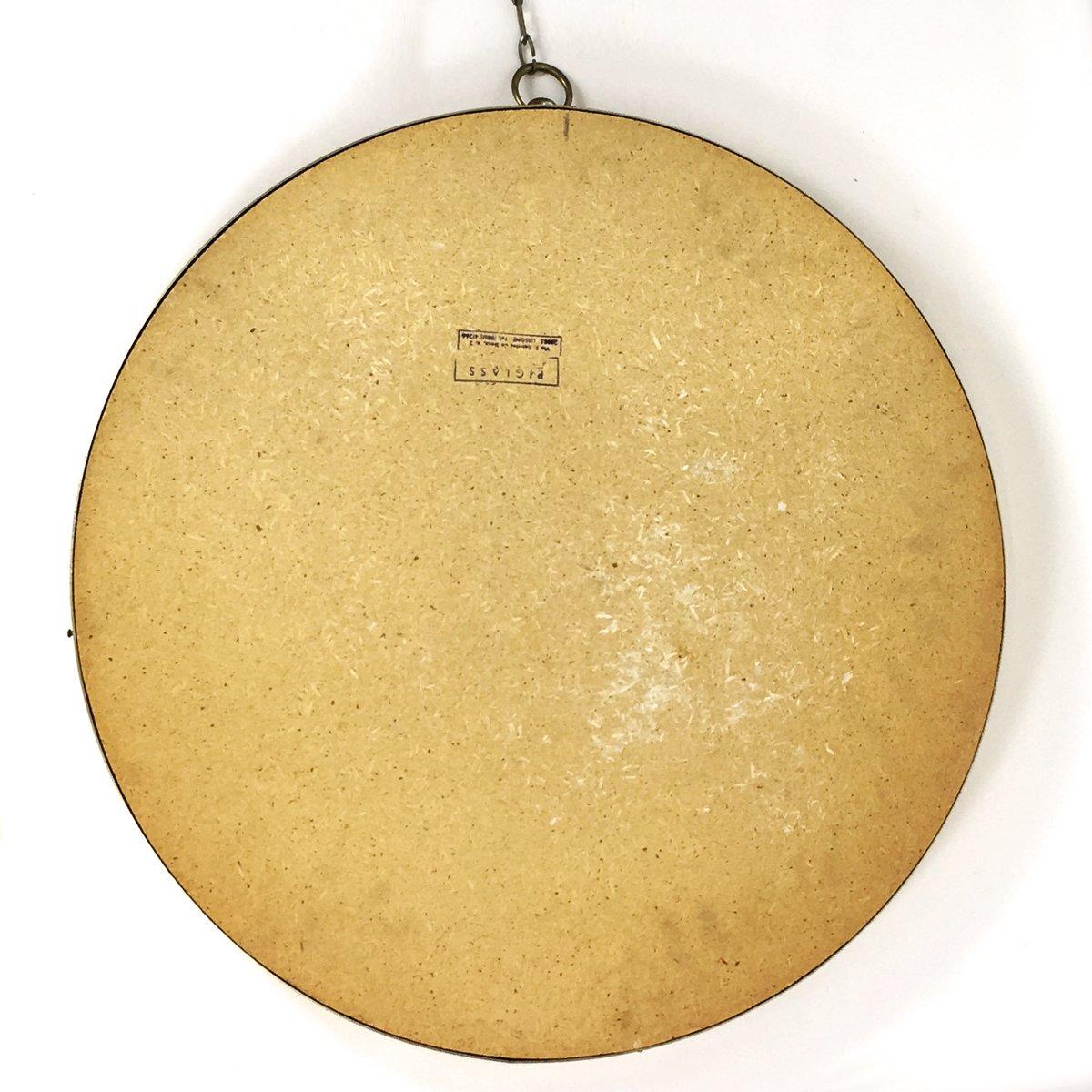 gro er vintage spiegel mit goldrahmen bei pamono kaufen. Black Bedroom Furniture Sets. Home Design Ideas