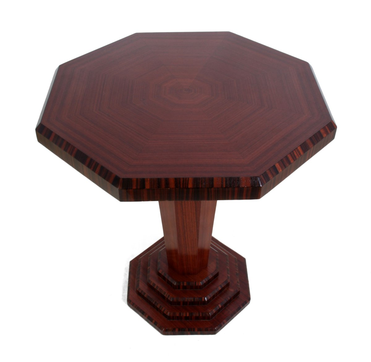 Art deco rosewood and macassar ebony wine table 1920s for - Deco table campagne ...