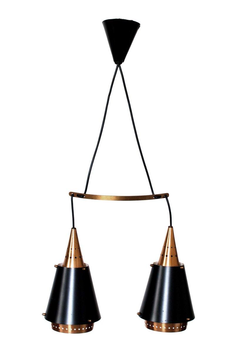 skandinavische vintage kupfer h ngelampe bei pamono kaufen. Black Bedroom Furniture Sets. Home Design Ideas