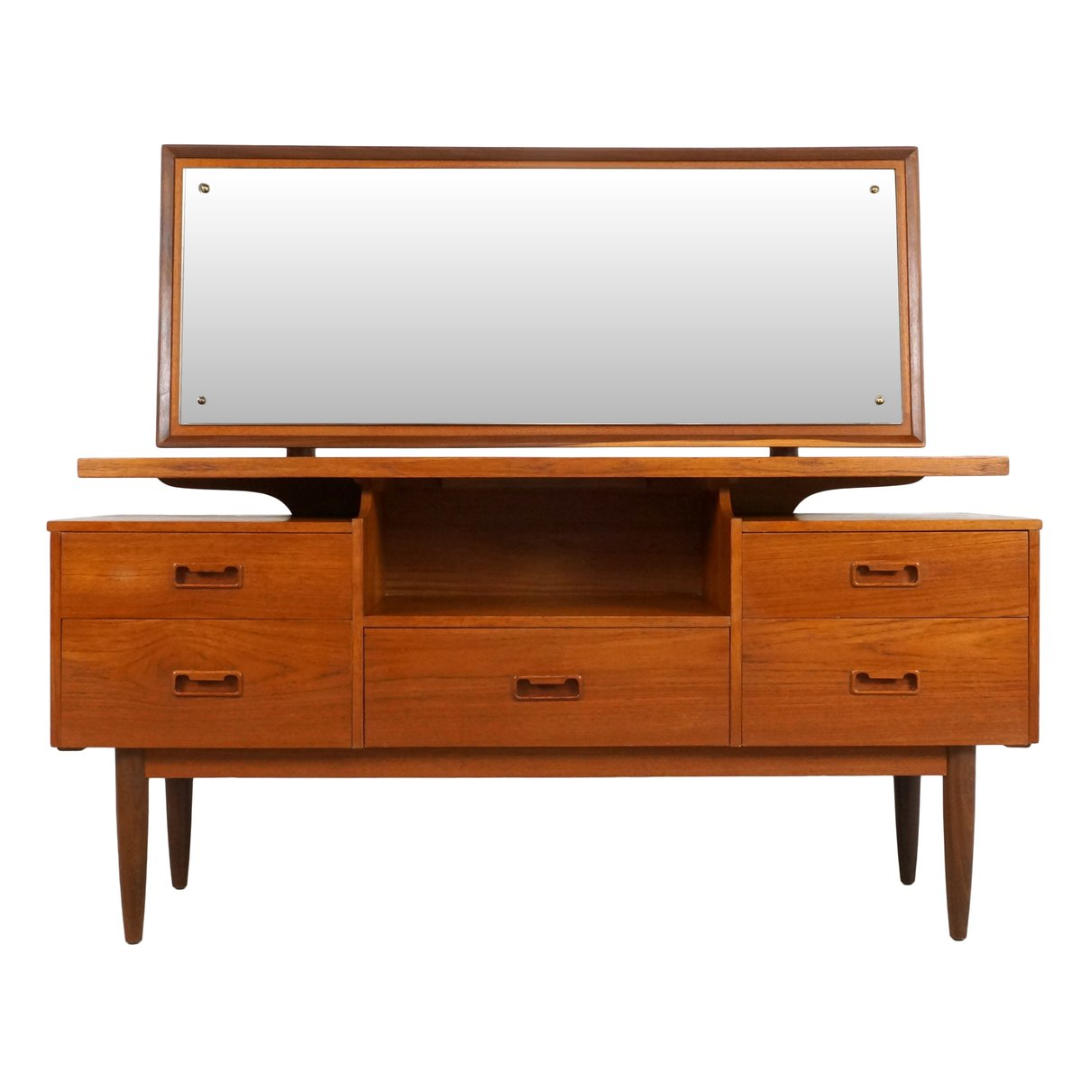 1960s Style Furniture danish style teak dressing table, 1960s for sale at pamono