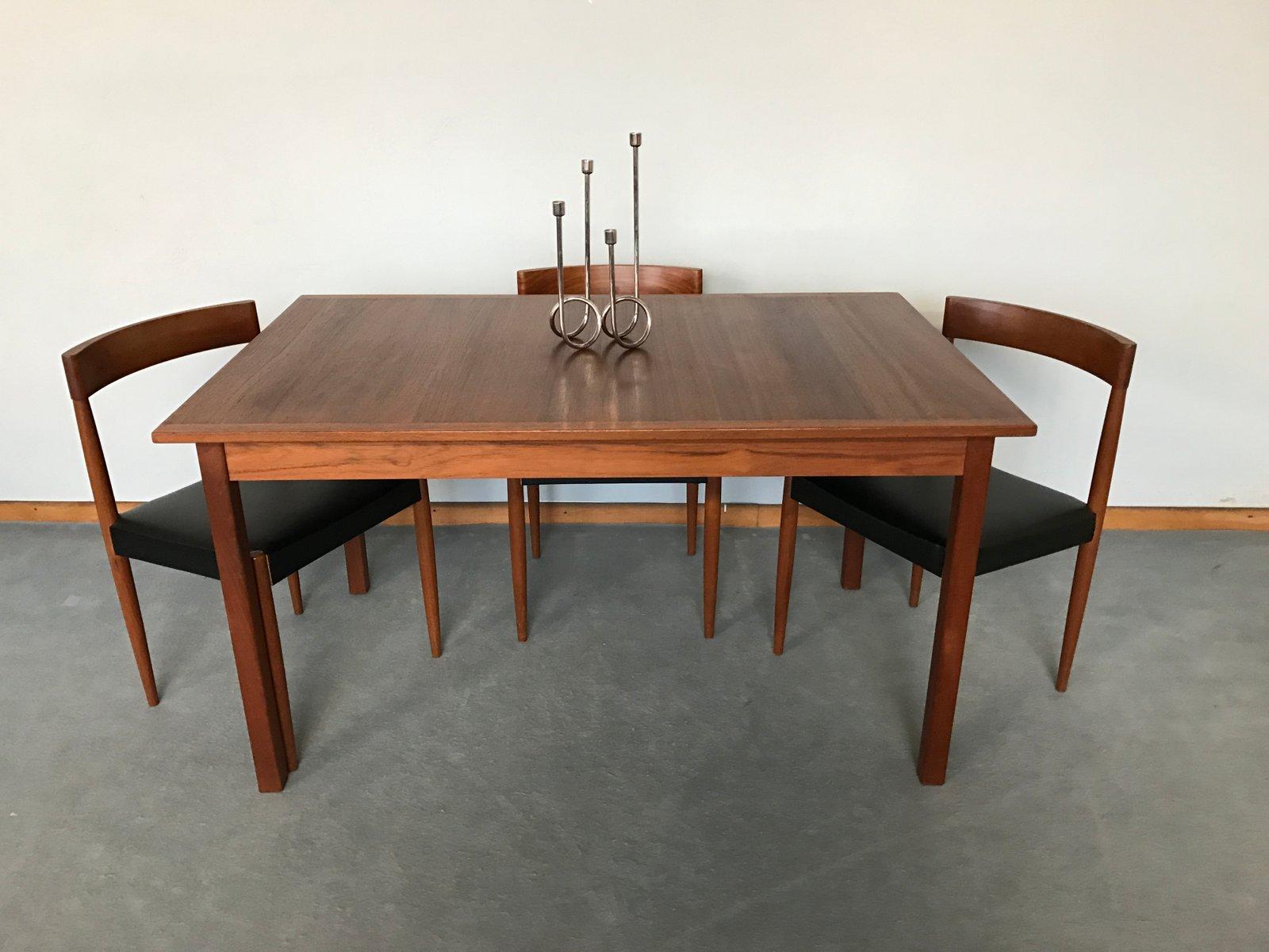 Vintage Scandinavian Teak Dining Table by Nils Jonsson for  : vintage scandinavian teak dining table by nils jonsson 5 from www.pamono.com.au size 1600 x 1200 jpeg 111kB