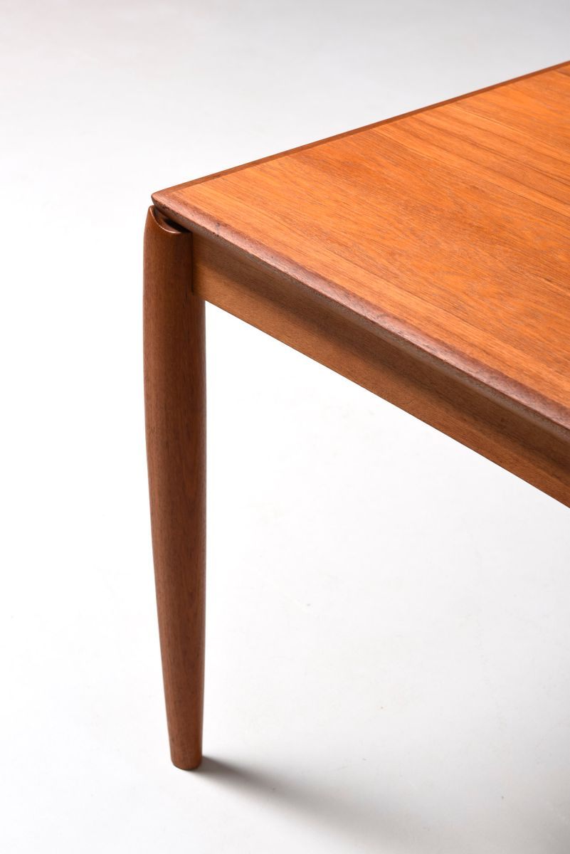 mid century danish dining table by henry w klein for bramin