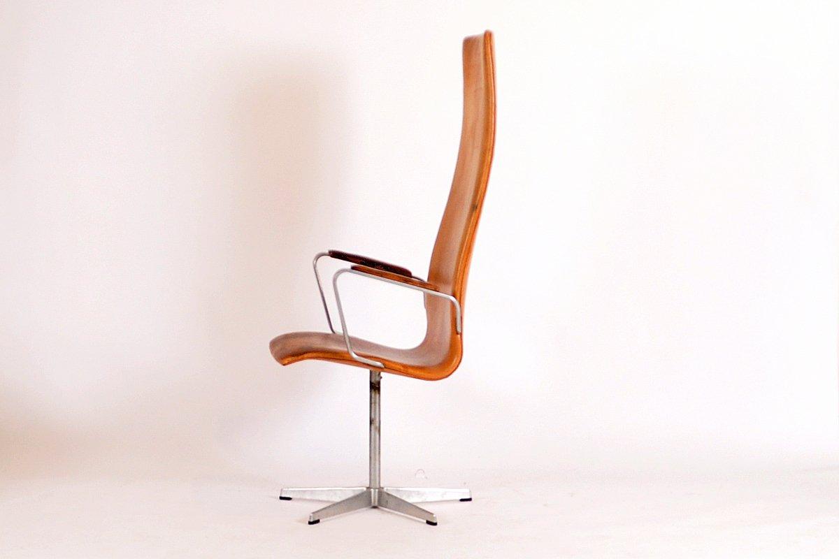 vintage model 3272 oxford chair by arne jacobsen for sale at pamono. Black Bedroom Furniture Sets. Home Design Ideas
