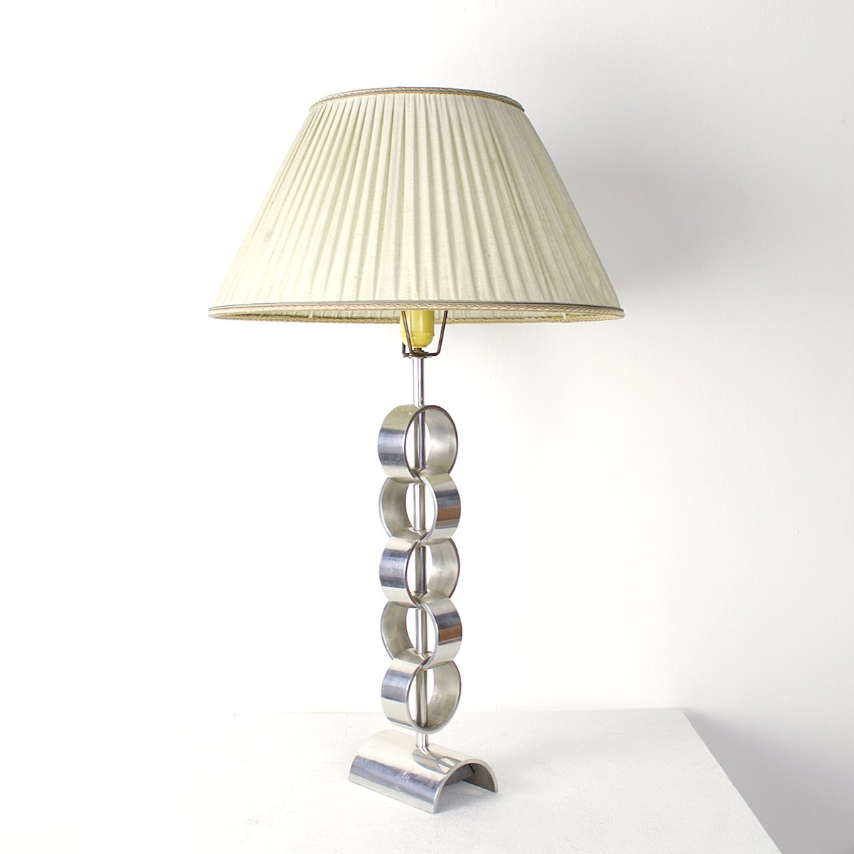 Mid century aluminum table lamp for sale at pamono for Z gallerie century table lamp