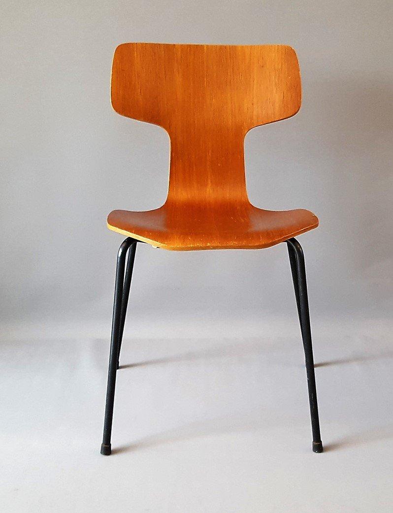Model 3103 Hammer Chair By Arne Jacobsen For Fritz Hansen