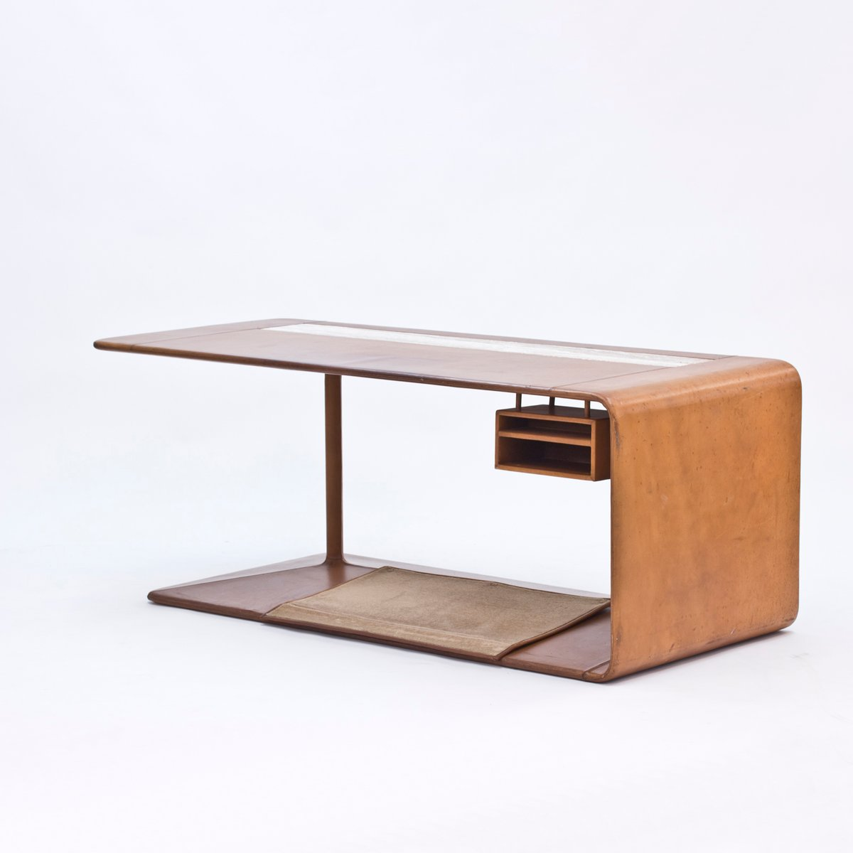 Custom made leather desk from nk 1965 for sale at pamono for Unique desks for sale