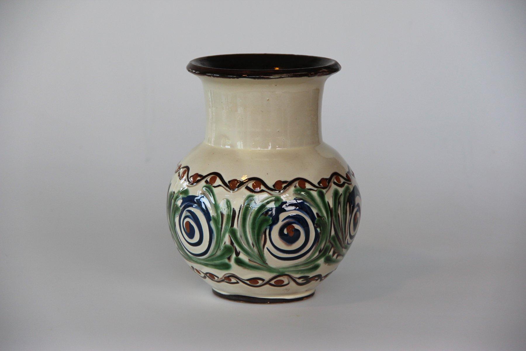 danish ceramic vase from k hler for sale at pamono. Black Bedroom Furniture Sets. Home Design Ideas