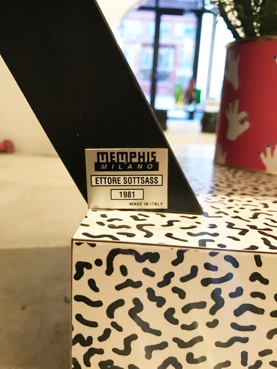 Italian Carlton Bookcase By Ettore Sotts For Memphis Milano At Pamono
