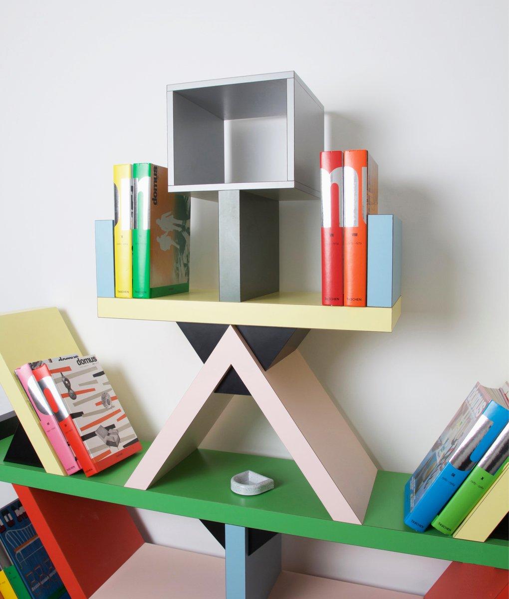 libreria carlton di ettore sottsass per memphis milano