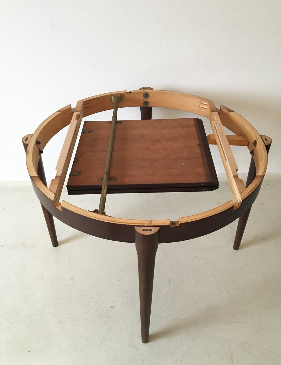 Vintage Extendable Dining Table Vintage Extendable Dining Table From L 1 4 Bke 1960s For Sale At Pamono