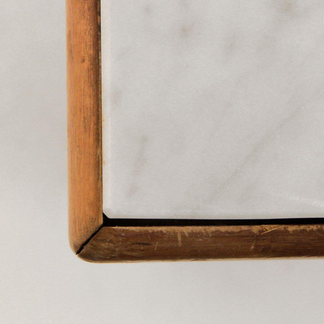 table basse mid century avec plateau en marbre italie 1960s en vente sur pamono. Black Bedroom Furniture Sets. Home Design Ideas