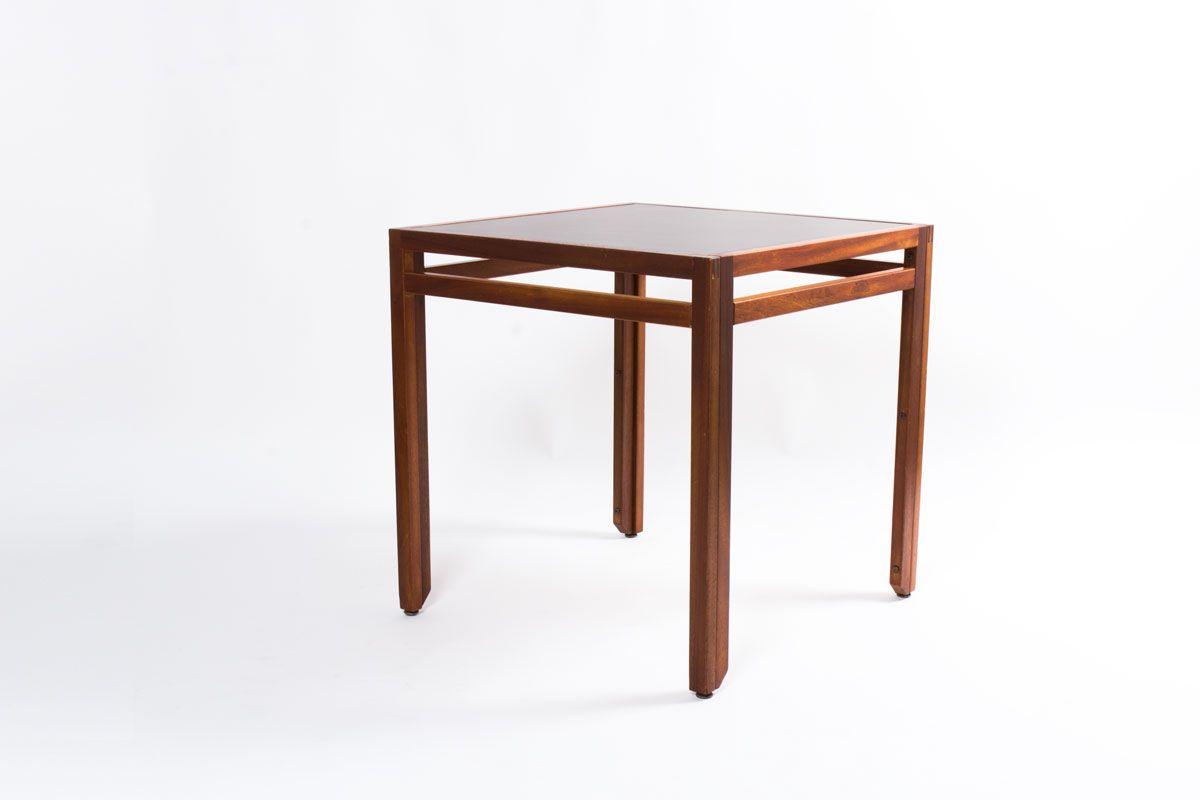 quadratischer tisch von andr sornay 1950er bei pamono kaufen. Black Bedroom Furniture Sets. Home Design Ideas