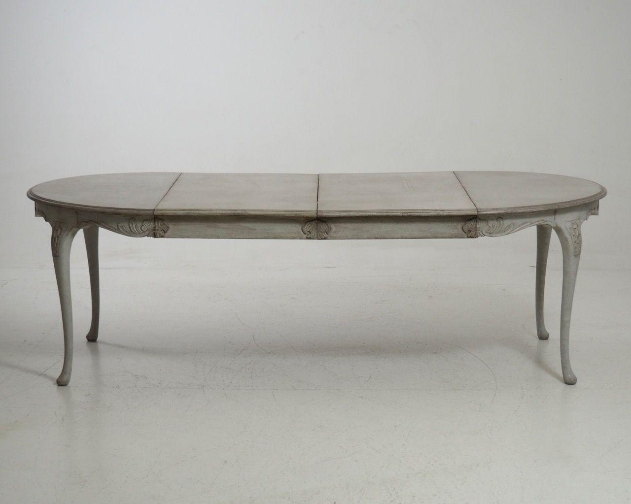Antiker schwedischer ausziehbarer tisch im rokoko stil bei pamono kaufen - Design im rokoko stil prachtvollste kunstepochen ...