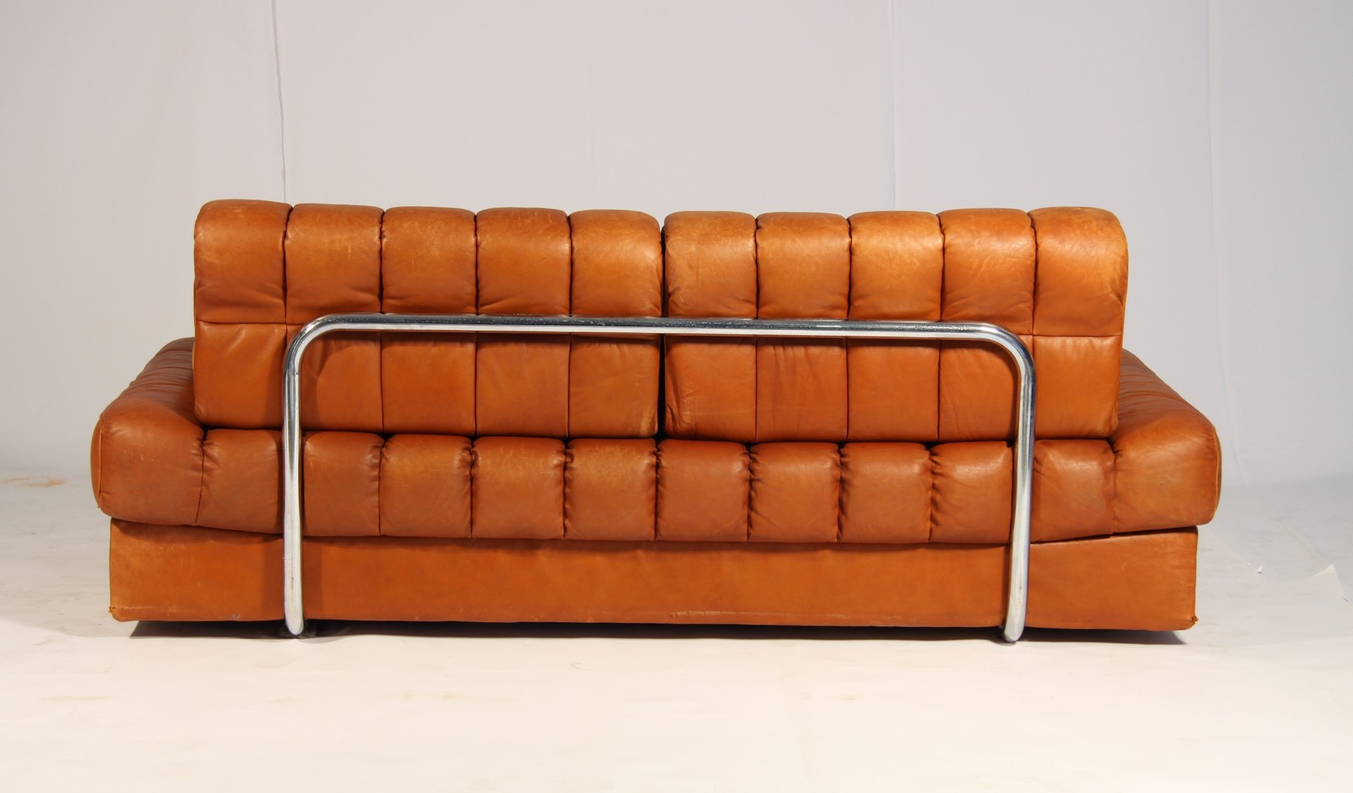 Vintage DS 85 Brown Leather Daybed from de Sede 1960s for sale at