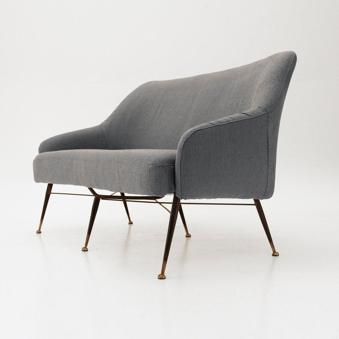 italienisches mid centuy sofa 1950er bei pamono kaufen. Black Bedroom Furniture Sets. Home Design Ideas