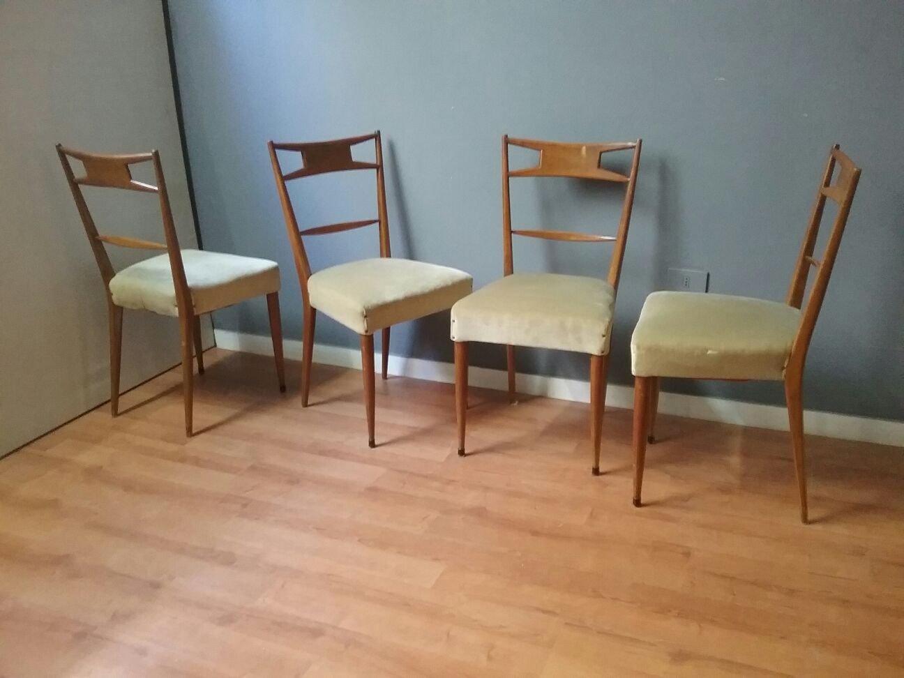 Retro Esstisch Stühle : vintage esstisch st hle 1950er bei pamono kaufen ~ Markanthonyermac.com Haus und Dekorationen